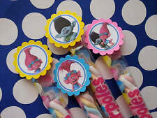 20 trolls marshmallows party favors, goodie bag fillers, candy buffet