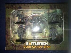 Clan Ad Hoc Star - BattleTech Clan Invasion Kickstarter (New)