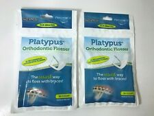 Platypus Orthodontic Flossers for Braces - (Two) 30-Count Sealed Packages