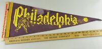 VTG Felt Pennant Historical Rare Philadelphia Athletics
