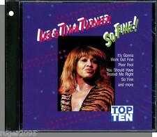 Ike & Tina Turner - So Fine! - Early Recordings, New 1991 Special Music CD!