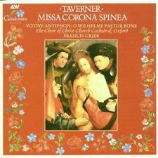 Taverner Missa Corona Spinea Christ Church Cathedral Choir Grier
