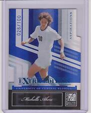 2007 DONRUSS ELITE MICHELLE AKERS MIRROR BLUE CARD #89 ~ /100 ~ OLYMPIC SOCCER