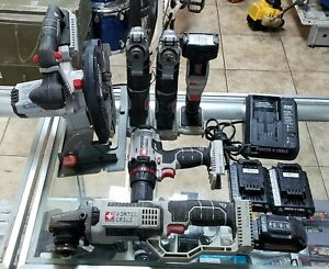 Porter-Cable 20-Volt MAX Cordless Lithium-Ion 6-Tool Combo Kit 2 Batts+Charger
