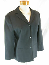 Size 12 Cue Charcoal Wool ladies jacket - perfect for corporate and office wear