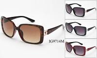 12 Pairs New Women Fashion Plastic Metal Mixed Designer Sunglasses Wholesale