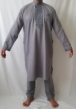 a6f5529f13 Men Kurta Shalwar Pakistani Indian Wear Dress Eid Casual Kameez Outfit  Salwar