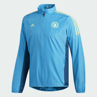 Adidas Boston Marathon Men's Celebration Jacket Size XL Blue New Tags DX1851