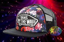New Vans Beach Girl Galaxy Floral Trucker Snapback Cap Hat