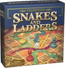 Traditions Snakes and Ladders Board Game fun family classic NEW  *US SELLER*