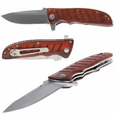 Authentisch Messer ENLAN EL-01 / Holz / 8Cr13MoV / Liner-Lock