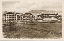 Glacier Park Hotel MT Montana Great Northern Railway Albertype Postcard F38