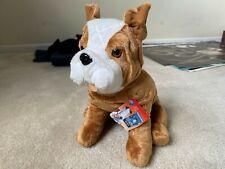 "Bulldog Kohl's Cares for Kids Dear Mrs. LaRue Collectible Plush 15"" Toy Dog"