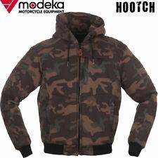 MODEKA Motorrad-Hoodie HOOTCH camouflage Blouson-Fit Kapuze Protektoren Gr. XL