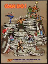 RUBY SPEARS__Original 1987 Trade AD_TV promo__Alvin & Chipmunks_Centurions_Rambo