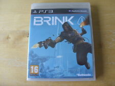 Brink (Sony PlayStation 3, 2011) - European Version - NEW , SEALED - FREE UK P&P