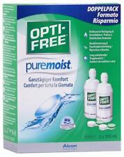 2 x 300ml OPTI-FREE PureMoist Contact Lens Solution, Economy Pack