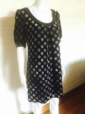 Viscose Polka Dot Dry-clean Only Dresses for Women