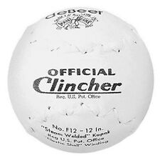 Worth DeBeer  F12 Clincher 12-Inch Softballs - 1 dozen