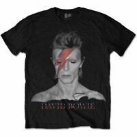 David Bowie Aladdin Sane Official Merchandise T-Shirt M/L/XL - Neu