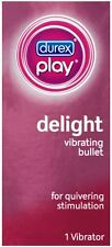 Durex Play Delight Vibrating Bullet, Battery Included, 1 ct (Pack of 9)