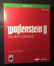 Wolfenstein 2 The New Colossus [ Collector's Edition ]  (XBOX ONE) NEW