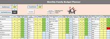Finances budget familial Planner