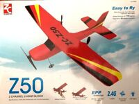 RC Airplane Glider 2.4G 2Channel Remote Control Plane  Lithium  USB Chargeable