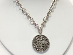 LOIS HILL Necklace $347 Sterling Silver New Over Stock With Tags