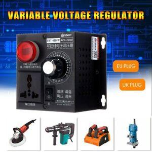 SCR Variable Voltage Controller For Fan Speed Motor Control Voltage Regulator UK