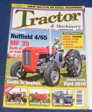 TRACTOR & MACHINERY SEPTEMBER 2008 - NUFFIELD 4/65/FORD CLASSIC 3610