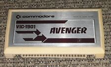 Commodore VIC-20 1901 video game AVENGER Cartridge Tested like Space Invaders