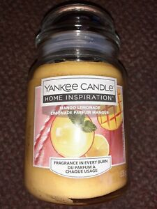 New Yankee Candle mango lemonade  - large  jar -  great  gift