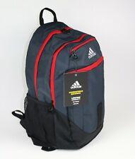 "New Adidas Foundation III Laptop Backpack 15.4"" Sleeve Night grey/Scarlet"