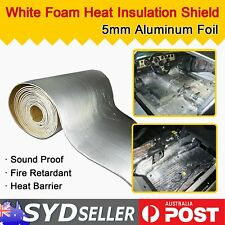 1.8M x 1M Car Insulation Materials Sound Deadener Auminum Foil Reflective Heat
