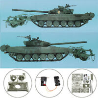 T-72 1/35 Military Russian Armor Tank KMT-5 Mine Roller Model Kit DIY Army