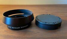 Leica 12585 Vented Lens Hood + Cap