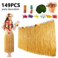 149x Tropical Hawaiian Green Leaves Luau Moana Party Table Decorations Bulk New