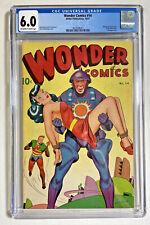 Wonder Comics #14 CGC 6.0 better publishing 1947 bondage sci-fi Schomburg