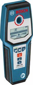 Bosch GMS 120 Professional Metallortungsgerät Multidetektor Leitungssucher