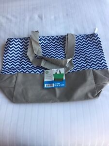 XL Jumbo Tote/ Beach/ Shopping Bag with zipper closures