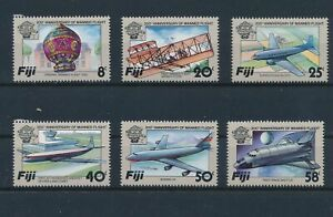 LO64750 Fiji aviation aircraft airplanes fine lot MNH