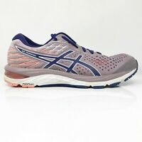 Asics Womens Gel Cumulus 21 1012A468 Violet Pink Blue Running Shoes Size 8.5
