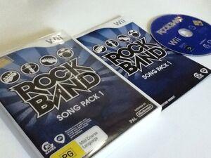 ROCKBAND ROCK BAND SONG PACK 1 NINTENDO WII