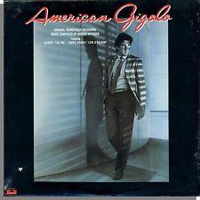 American Gigolo - New 1980 Original Soundtrack LP Record!