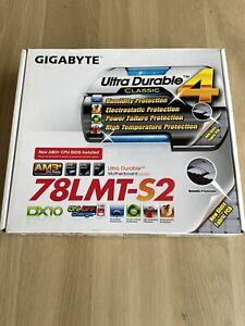 Gigabyte AMD GA-78LMT-S2P DX10 Motherboard socket AM3+ BOXED