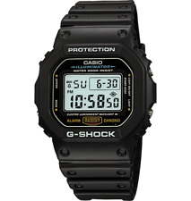 Casio G-SHOCK DW5600E-1V Mens Classic Black Resin Sport Wrist Watch