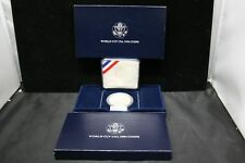1994 S World Cup Commemorative Silver Dollar Coin With Original Box