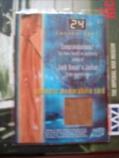 24 Twenty Four Jack Bauer's Jacket Costume Card M1