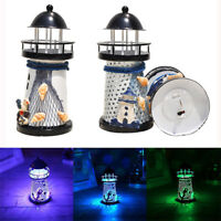 14cm Lighthouse Iron Candle Holder Nautical Beach Anchor Decoration Wedding